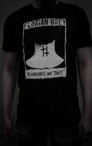 Florian Grey official Merch doublecross necktattoo shirt in darkness we trust