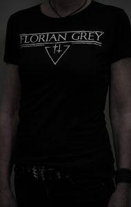 Florian Grey official Merch doublecross triangle shirt