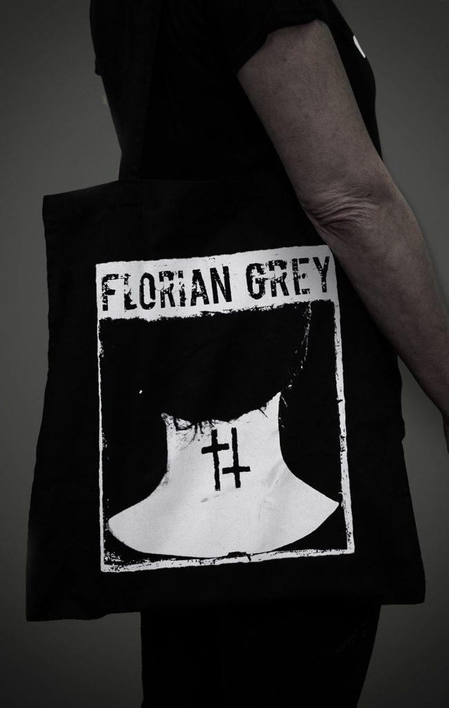 Florian Grey official Merch doublecross neck tattoo bag