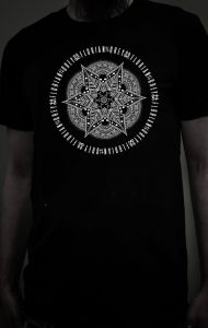 Florian Grey official Merch Mandala Bluecifer Shirt