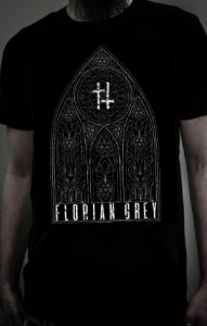 Double Cross Cathedral t-Shirt_Florian Grey_Merch_NEW