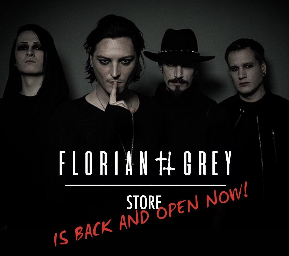 Florian Grey official Merch-Shop Grand Reopening für Preorder