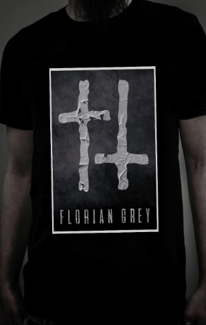 Wasted Crosses T-shirt_Florian Grey_Merch_NEW